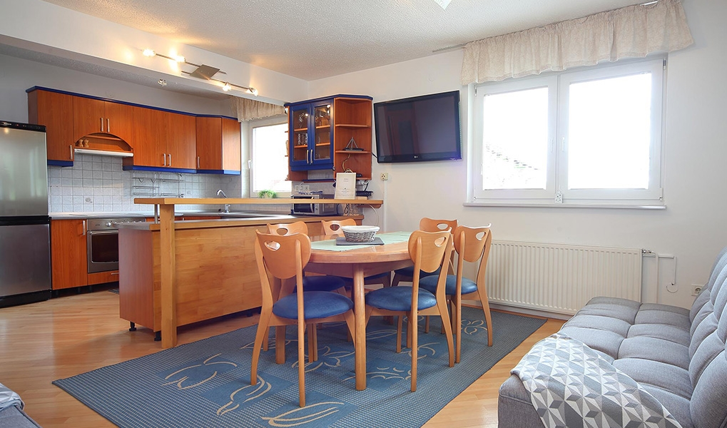 Apartment for 4 to 6 persons